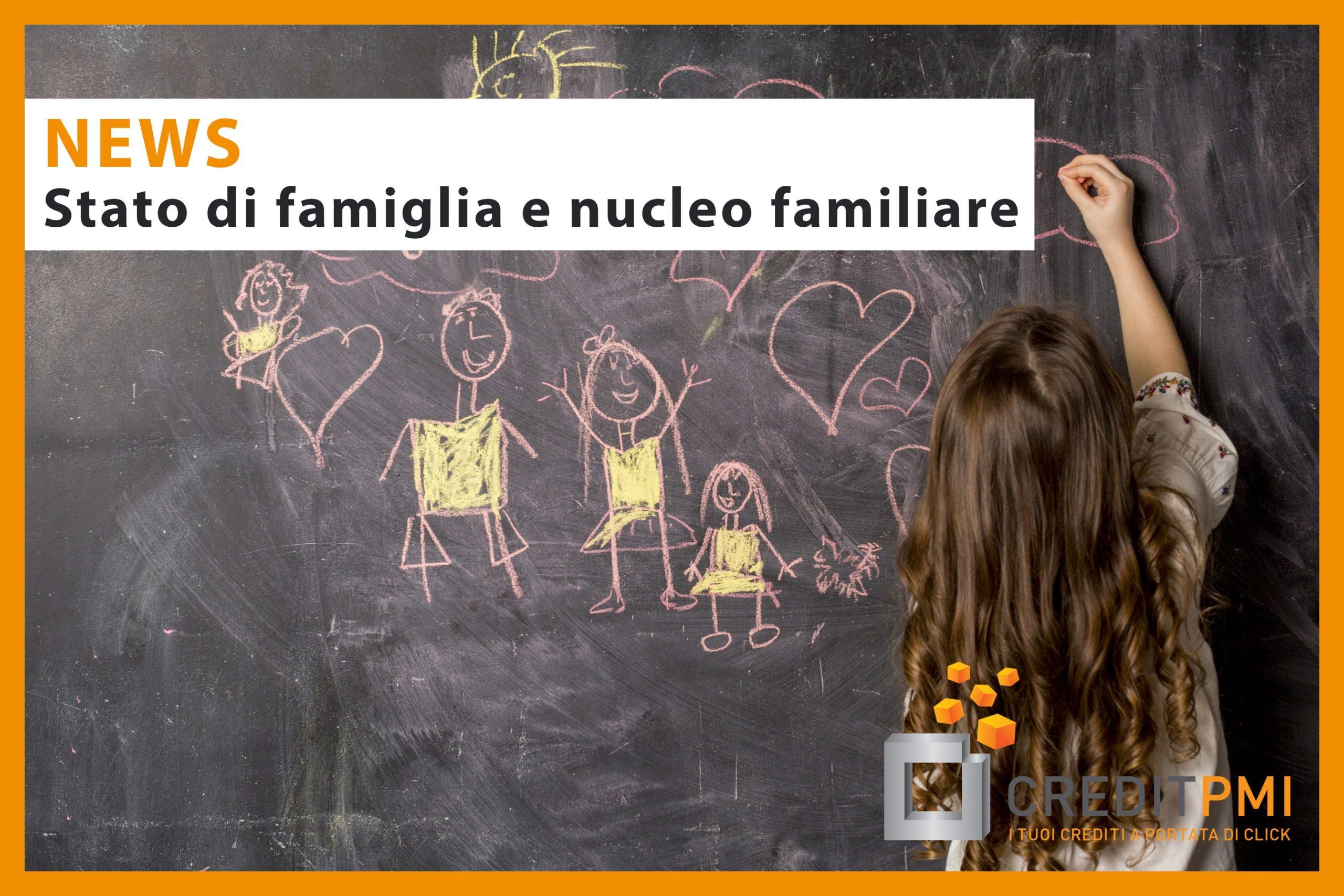 Stato di famiglia e nucleo familiare