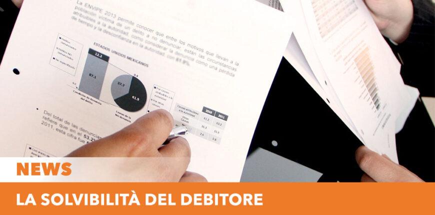 Solvibilità debitore