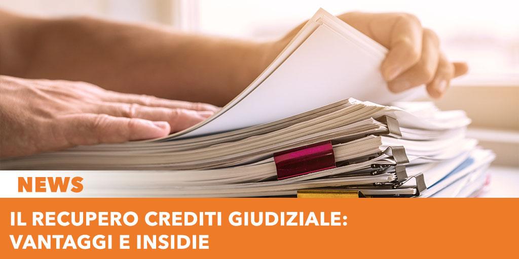 Recupero giudiziale - Ordine di pagamento o titolo esecutivo