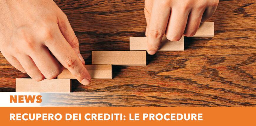 Recupero dei crediti: le procedure