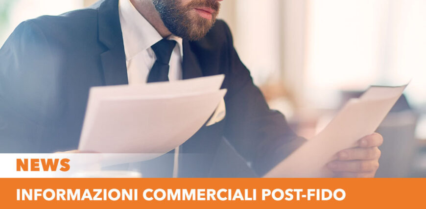Informazioni commerciali post-fido