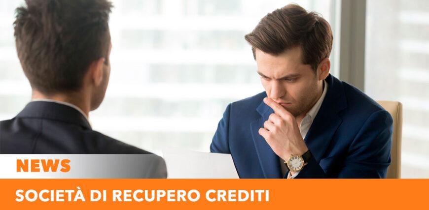 Società di recupero crediti