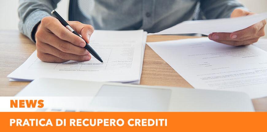 Pratica di recupero crediti