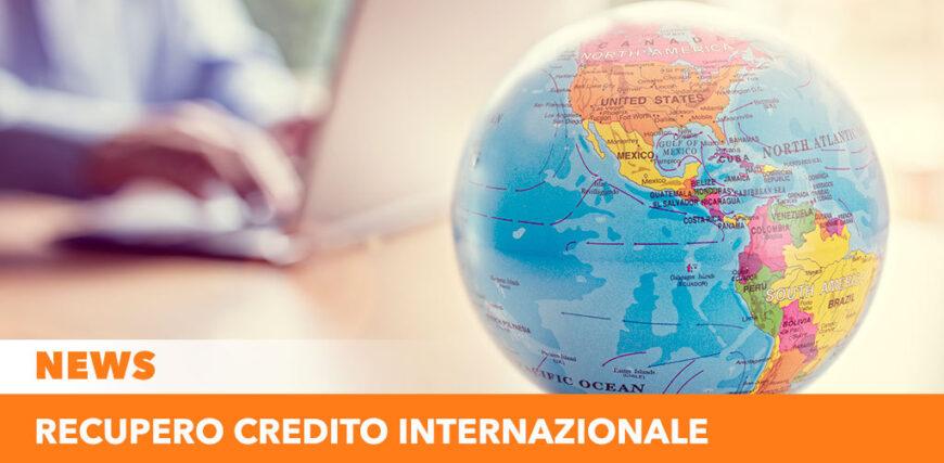 Recupero credito internazionale